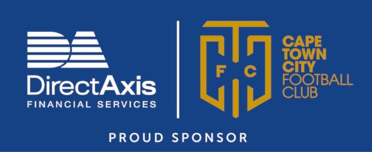 DirectAxis proud sponsor of Cape Town City Football Club logo