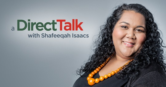 DirectTalk with Shafeeqah Isaacs by DirectAxis